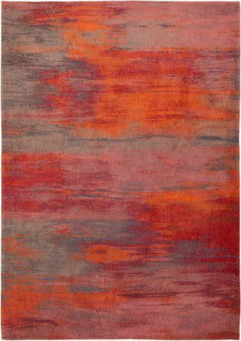Louis De Poortere teppich LX 9116 Atlantic Monetti Hibiscus Red